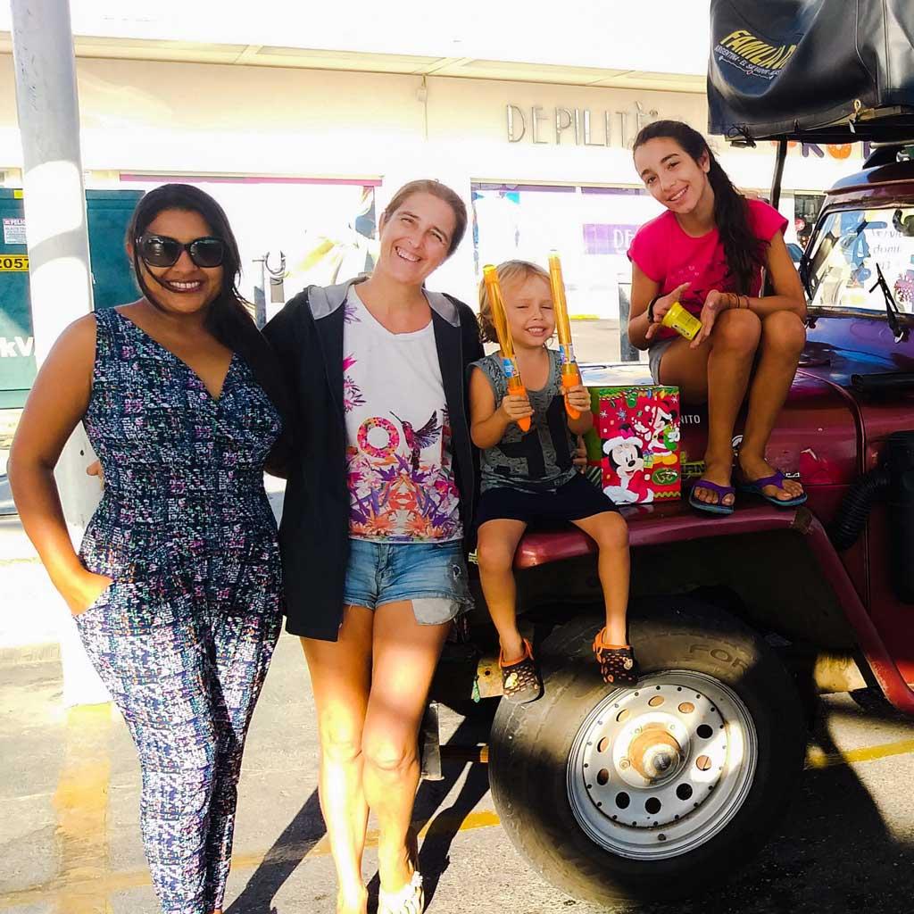 Con Nuria El Salvador nos sigue sorprendiendo a la distancia.
