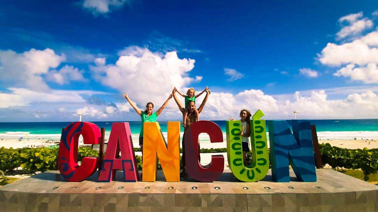 Bienvenida la Familia Diaz Galindo a Cancum Mexico